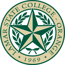 220px-Lamar_State_College-Orange_color_seal